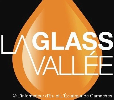 "Le flacon reprend la symbolique du logo ""Glass Vallée""."